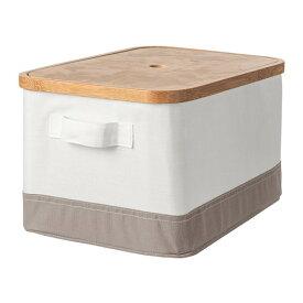 IKEA イケア RABBLA ラッブラ ふた付きボックス n00348128
