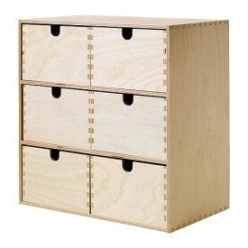 IKEA イケア MOPPE モッペ ミニチェスト バーチ材合板 z10227437