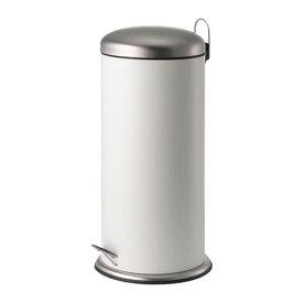 IKEA イケア MJOSA ミョーサ ペダル式ゴミ箱 ホワイト n10422863