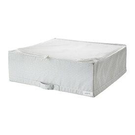 IKEA イケア 収納ケース ホワイト グレー STUK n20309574