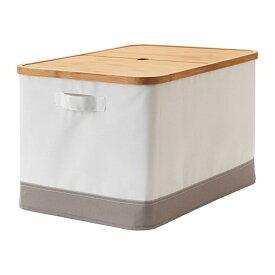 IKEA イケア RABBLA ラッブラ ふた付きボックス n20348127