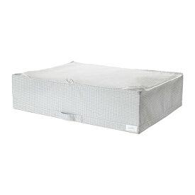 IKEA イケア 収納ケース ホワイト グレー STUK n30309578
