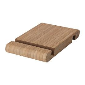 IKEA イケア ホルダー 携帯電話/タブレット用 竹 z70458000 BERGENES