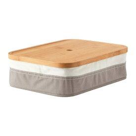 IKEA イケア RABBLA ラッブラ ボックス 仕切り付き n80348129