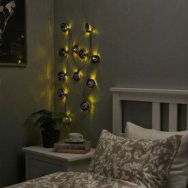 IKEA イケア LEDライトチェーン 全12球 電池式 柄ミックス n50476726 STRALA