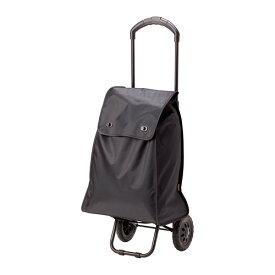 IKEA イケア KNALLA ショッピングバッグ キャスター付 ブラック c20282334