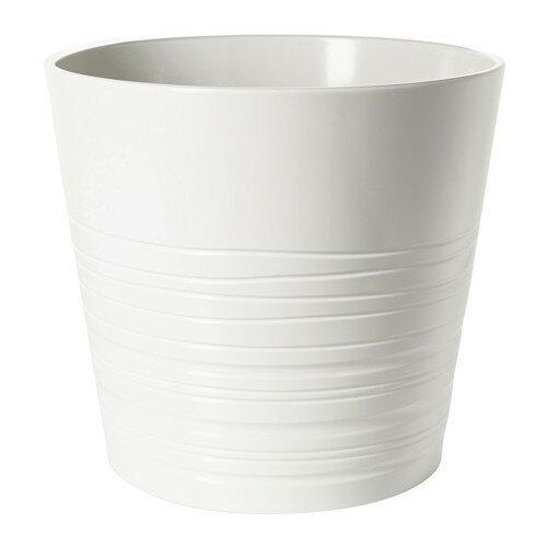 IKEA(イケア) MUSKOT 鉢カバー ホワイト E20308206