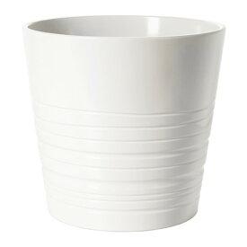 IKEA イケア MUSKOT 鉢カバー ホワイト E40308205