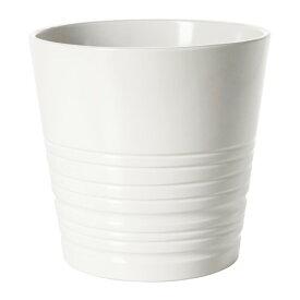 IKEA イケア MUSKOT 鉢カバー ホワイト E70308204
