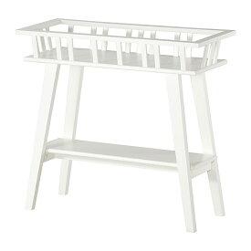 IKEA イケア LANTLIV プラントスタンド ホワイト b80197125