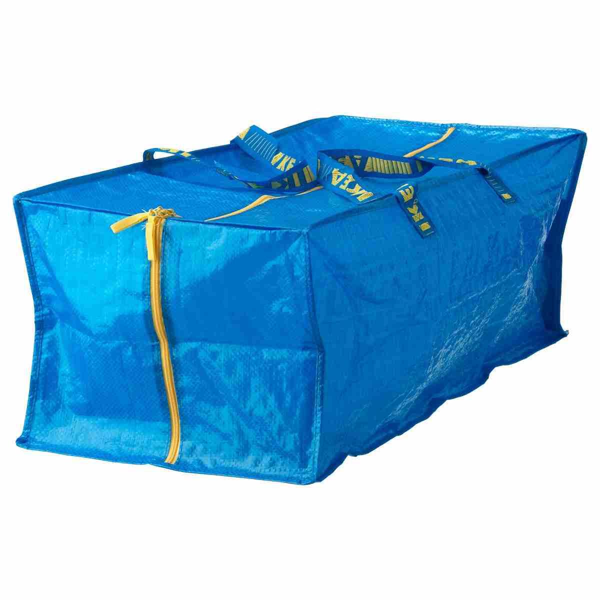 IKEA(イケア) FRAKTA トロリー用バッグ ブルー a90161989