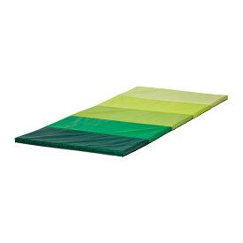 IKEA イケア PLUFSIG 折りたたみ式ジムマット グリーン b90262832