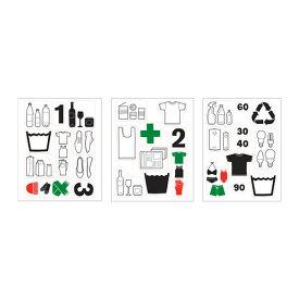 IKEA イケア DALLIDEN ダッリデン デコレーションステッカー ゴミ分別 z10231608