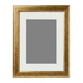 IKEA(イケア) VIRSERUM ヴィールセルム30x40 フレーム ゴールドカラー z20378534