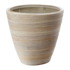 IKEA イケア PEKANNOT 鉢カバー 籐 ホワイト d50206956