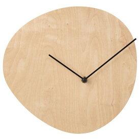 IKEA イケア ウォールクロック バーチ材合板 28 cm z70358784 SNAJDARE