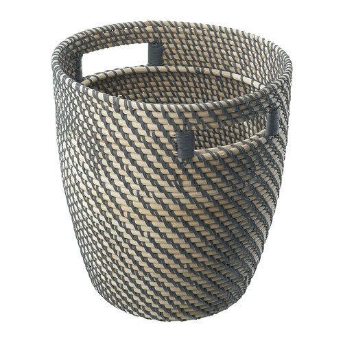 IKEA(イケア) RAGKORN 鉢カバー 籐 d80213776