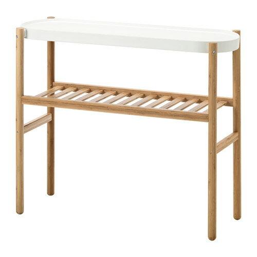 IKEA(イケア) SATSUMAS プラントスタンド 竹 ホワイト d80294961