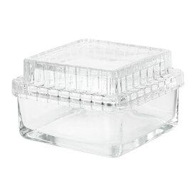 IKEA イケア SAMMANHANG ガラスのボックス ふた付き ガラス サイズ13x13x8 cm n00412138