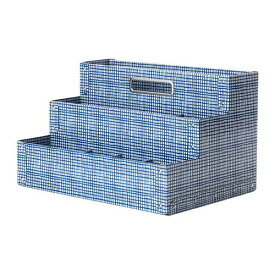 IKEA イケア FJALLA デスクオーガナイザー ホワイト ブルー n00432339