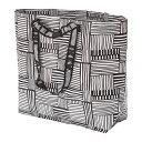 IKEA イケア FISSLA キャリーバッグ M ホワイト ブラック n30429284