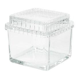 IKEA イケア SAMMANHANG ガラスのボックス ふた付き ガラス サイズ13x13x12 cm n80412115