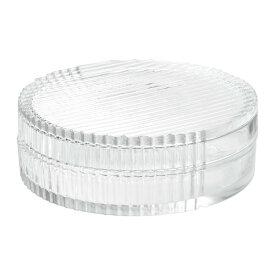 IKEA イケア SAMMANHANG ガラスのボックス ふた付き クリアガラス サイズ6 cm n80413742
