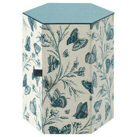 IKEA イケア デコレーションボックス グリーン バタフライ 紙 14x16cm ANILINARE n00465042