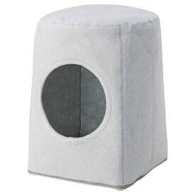 IKEA イケア LURVIG キャットハウス スツール用 ライトグレー n30467600
