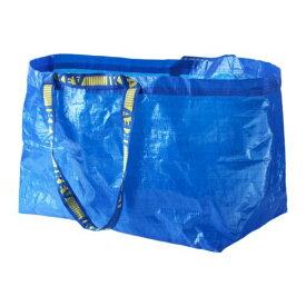 IKEA イケア FRAKTA キャリーバッグ L ブルー 青 20188483