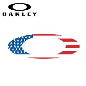 ★ OAKLEY オークリー 9 Foundation Logo Sticker (Flag) (71) 211-004-001 【ステッカー/シール/おしゃれ/アウトドア】【メール便発送350円・代引不可】
