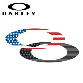 ★ OAKLEY オークリー Flag Metal Icon Sticker (69) 211-060-001 【ステッカー/シール/おしゃれ/アウトドア】【メール便発送350円・代引不可】