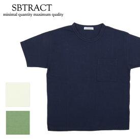 SBTRACT サブトラクト 21S/S two-binder PK TEE SBN19-061 【Tシャツ/トップス/アウトドア/半袖】