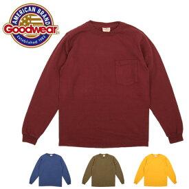 GOODWEAR グッドウェア L/S CREW NECK POCKET TEE (長袖) 30007 【日本正規品/アウトドア/メンズ/Tシャツ】