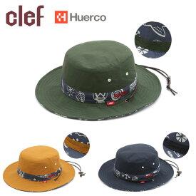 ★clef クレ Huerco×CLEFコラボ REV. FISH HAT フィッシュハット HC001 【フエルコ/釣り/アウトドア/キャンプ】