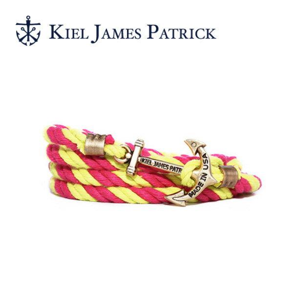 キールジェイムスパトリック KIEL JAMES PATRICK ロープ ブレスレット Lanyard Hitch Collection BUELLER LH-1258-425 【clapper】