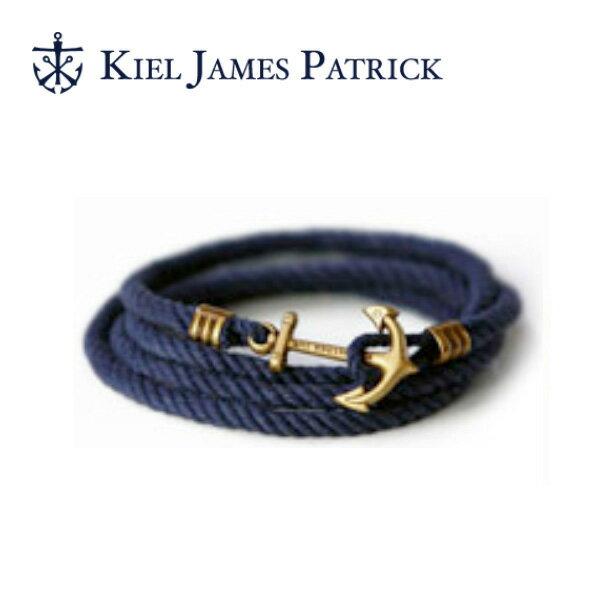 即日発送 キールジェイムスパトリック KIEL JAMES PATRICK ロープ ブレスレット Lanyard Hitch Collection CONSTELLATION RODGERS(NVY) LH-897-400