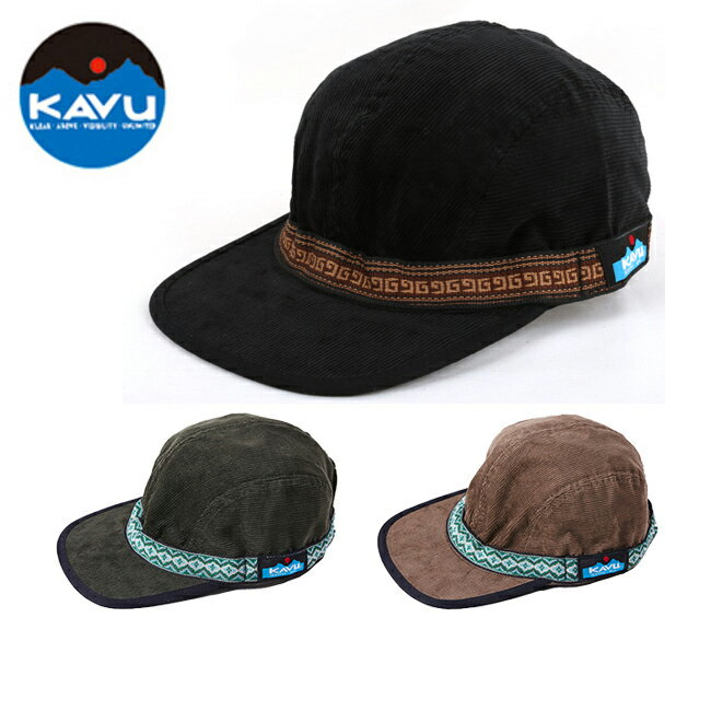 KAVU カブー キャップ コーデュロイストラップキャップ 19820522 【帽子】 【clapper】