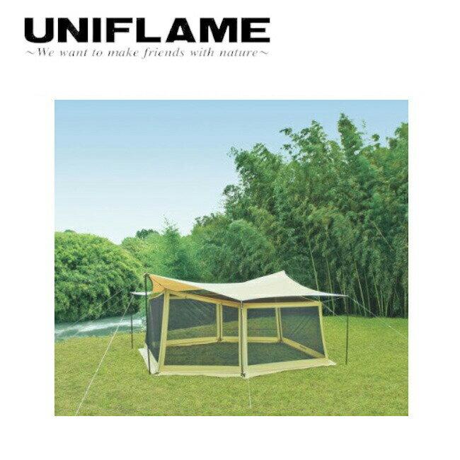 ユニフレーム UNIFLAME REVOタープ Lとメッシュウォールのセット 681688 【TENTARP】【TARP】 タープ アウトドア キャンプ お買い得 【clapper】