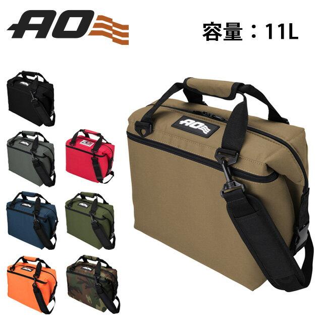 AO Coolers エーオー クーラーズ クーラーバック 12 パック キャンパス ソフトクーラー AO12BK/CH/NB/RD/RB 【ZAKK】クーラーボックス 保冷バック アウトドア キャンプ 【clapper】