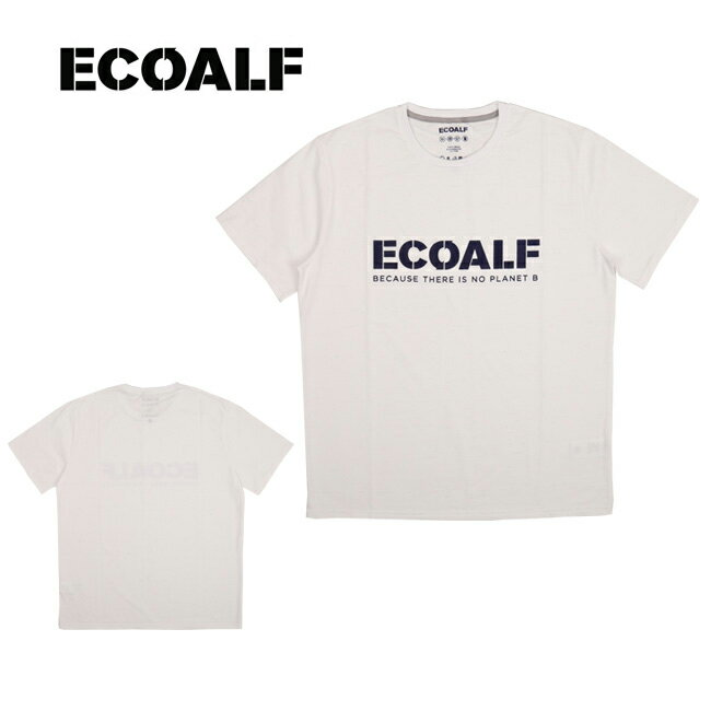 【スマホエントリでP10倍!7/22 10時〜】即日発送 ECOALF エコアルフ EAM-NAT-LOGO-71 【服】【t-cnr】 Tシャツ ファッション アウトドア フェス【メール便・代引不可】