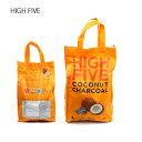 HIGH FIVE ハイファイブ COCONUT CHARCOAL 【BBQ】【GLIL】 ヤシガラ炭 バーベキュー BBQ エコ燃料 キャンプ アウトドア