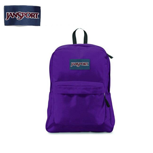 【スマホエントリーでP10倍 8月19日09:59迄】即日発送 ジャンスポーツ jansport SUPERBREAK(スーパーブレイク) Signature Purple T50131D 【カバン】 リュック バックパック デイパック