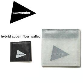 アンドワンダー and wander ウォレット hybrid cuben fiber wallet AW-AA769 【雑貨】サイフ 財布【clapper】