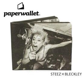 PaperWallet ペーパーウォレット ウォレット Artist Wallet (Slim Wallet)/STEEZxBLECKLEY ART033BLE 【雑貨】財布 タイベック素材 紙の財布【メール便・代引不可】 【clapper】