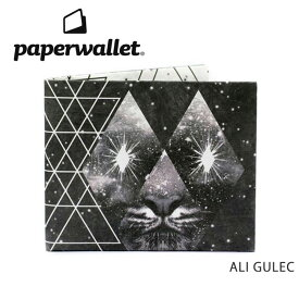 PaperWallet ペーパーウォレット ウォレット Artist Wallet (Slim Wallet)/ALI GULEC ART054AST 【雑貨】財布 タイベック素材 紙の財布【メール便・代引不可】 【clapper】