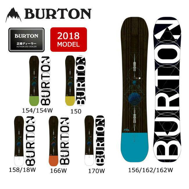 即日発送 2018 BURTON バートン スノーボード 板 カスタム CUSTOM 【板】 MENS メンズ