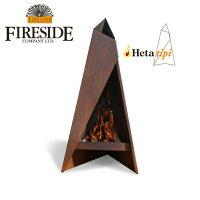 FIRESIDEファイヤーサイドストーブTipiティピ120Tipi12081041【BBQ】【GLIL】薪焚き火アウトドアファイヤープレイス