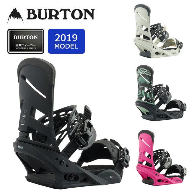 2019 BURTON バートン MISSION 105461 【ビンディング/スノーボード/日本正規品/メンズ】 【clapper】