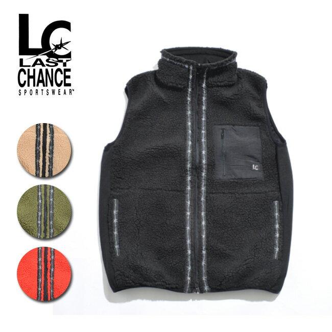 LAST CHANCE ラストチャンス Retro Boa Fleece Vest LC18FW-002 【アウトドア/フリース/メンズ/ウィメンズ】 【clapper】